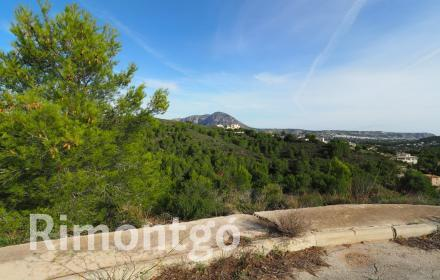 Plot with views for sale in the area of Covatelles, Javea.